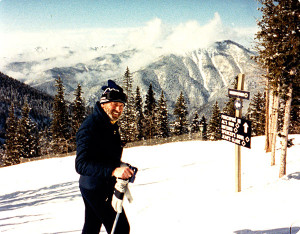 WooFDriver's Dad skiing the Rockies